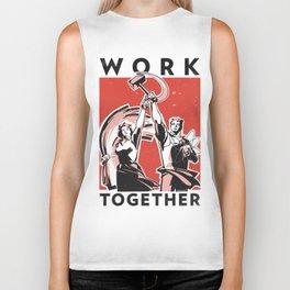Work Together Biker Tank
