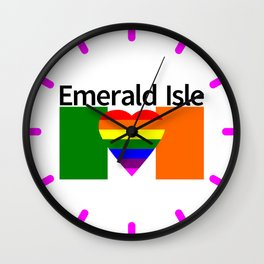 Ireland Gay Wedding Wall Clock