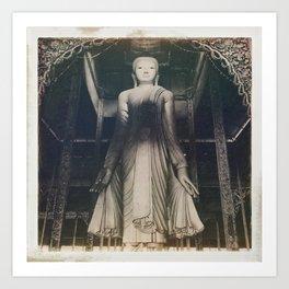 Burmese Memories #10 Art Print