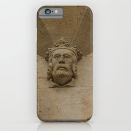 Kingly Sandstone Face at Oxford University England iPhone Case