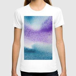 Background-dark blu and violet T-shirt