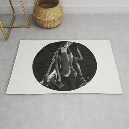 Build a Woman - Cut and Glue · Dizzy Miss Lizzy · Night · Crop Circle Rug