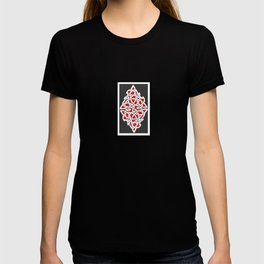 Red and Gray Diamond Knot T-shirt