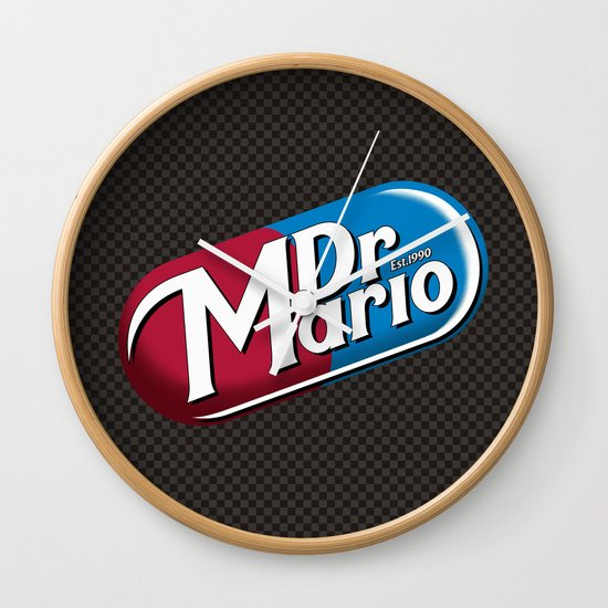Just What The Dr Ordered Wall Clock
