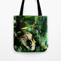 witchcraft Tote Bags featuring Witchcraft by Artwork-Fusions