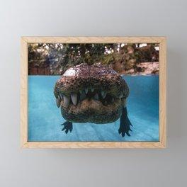 Jurassic Smile Framed Mini Art Print