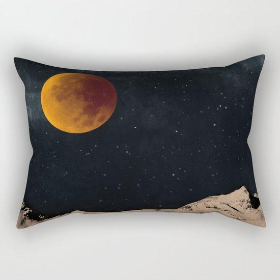 Bloodmoon Fantasy Rectangular Pillow