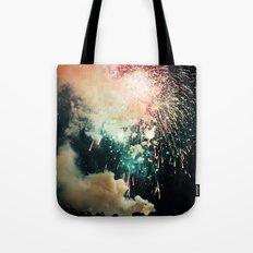 Bursts of light. Tote Bag