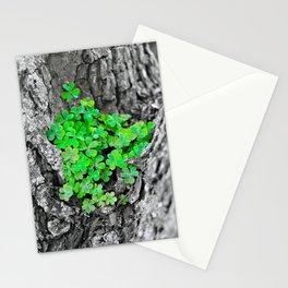 Clover Cluster Stationery Cards