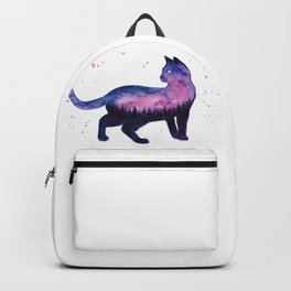 Galaxy Forest Cat Backpack
