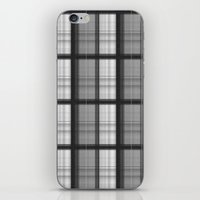 plaid iPhone & iPod Skins featuring Plaid by Jonna Ivin