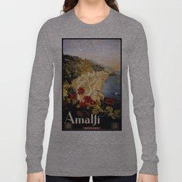 Vintage poster - Amalfi Long Sleeve T-shirt