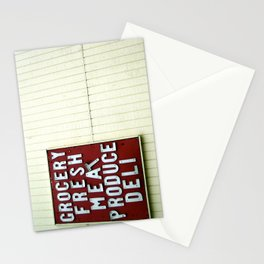 The Basics Stationery Cards
