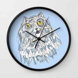 Grouchy Cat Master 3000 Wall Clock