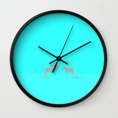 Crazy old Mule / Chicago Mule Wall Clock