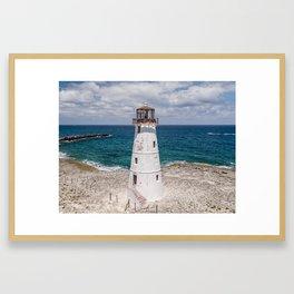 The Nassau Lighthouse Framed Art Print