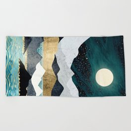 Ocean Stars Beach Towel