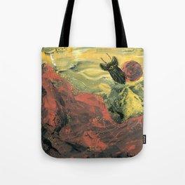 Spaceship Beetle Tote Bag