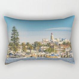 Punta del Este Port, Uruguay Rectangular Pillow