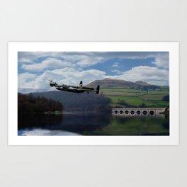 Lancaster Bomber - Dam Buster Art Print