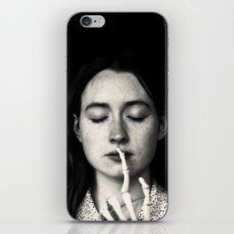 shh iPhone Skin