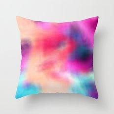 Bastard Abstract Throw Pillow
