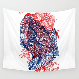 Seismic activity Wall Tapestry