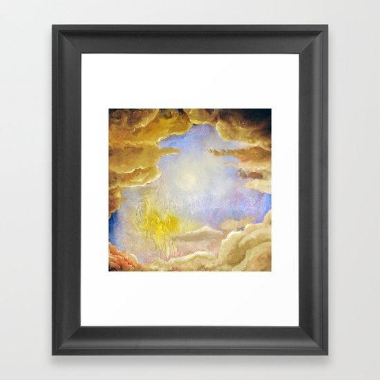 Your heaven Framed Art Print