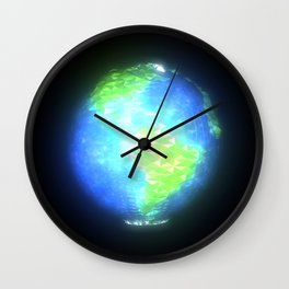Albedo: Americas by Day Wall Clock