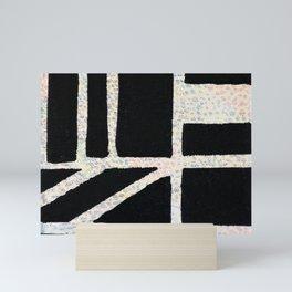 Square Line Slant Mini Art Print