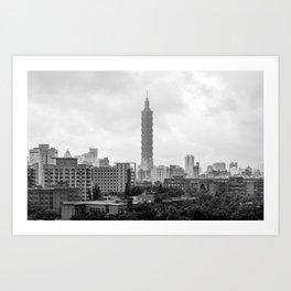 Taipei 101 Art Print