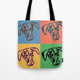Waylon the Dog - Pop Art Tote Bag