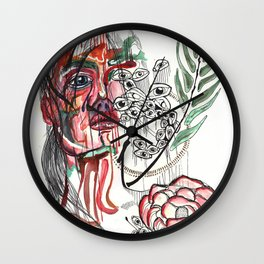 INSPERATION  I @EdART Wall Clock