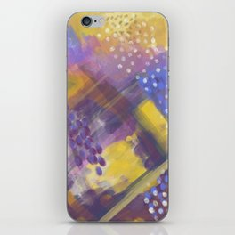 Abstract Arial design iPhone Skin