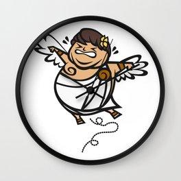 Fat Icarus Wall Clock