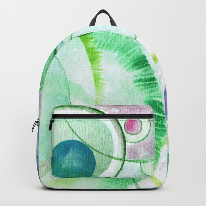 We Are All Connected Backpack