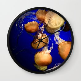 Sea Nettle Group Wall Clock
