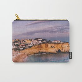 Carvoeiro town and beach in Lagoa, Algarve, Portugal. Carry-All Pouch