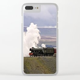 60103 Flying Scotsman at Ribblehead Clear iPhone Case