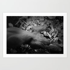 MY LITTLE PIG (Us And Them) Art Print