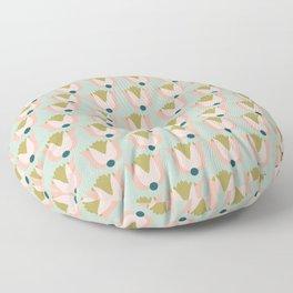Scandi Tulip pattern Floor Pillow