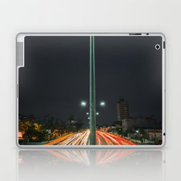 Car Lights Laptop & iPad Skin