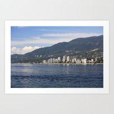 North Vancouver Art Print