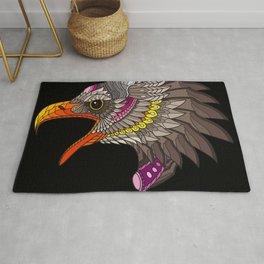 colorful eagle Rug