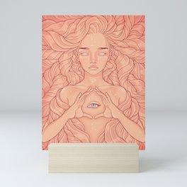 Goldie by Durianaddict Mini Art Print