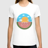 hakuna T-shirts featuring Watermelon x Summer by Hakuna Mettata