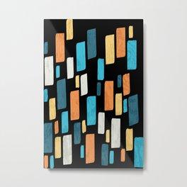 Tile Metal Print