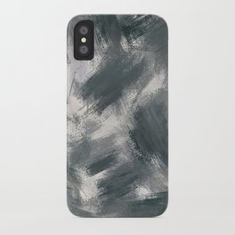 Dark misty look iPhone Case