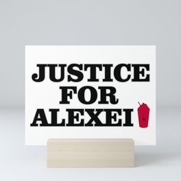 Justice For Alexei Mini Art Print