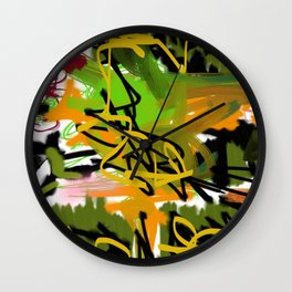 The Onslaught II Wall Clock